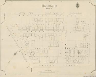 Balmain, Sheet 12, 1888