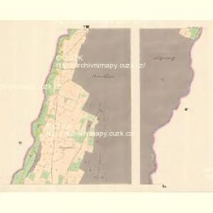 Gross Mohrau (Hruba Morawa) - m3311-1-005 - Kaiserpflichtexemplar der Landkarten des stabilen Katasters