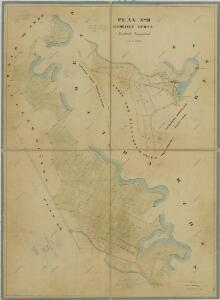 Mapy činžovních pozemků obce Herda, spadající do III. sekce třeboňského velkostatku 1