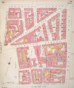 Insurance Plan of London Vol. VI: sheet 131
