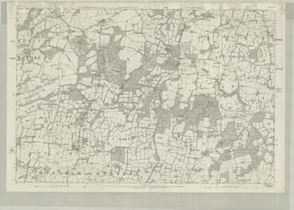 Sussex XXV - OS Six-Inch Map