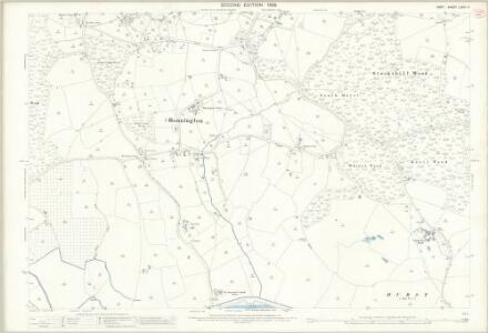 Kent LXXIII.11 (includes: Aldington; Bonnington) - 25 Inch Map