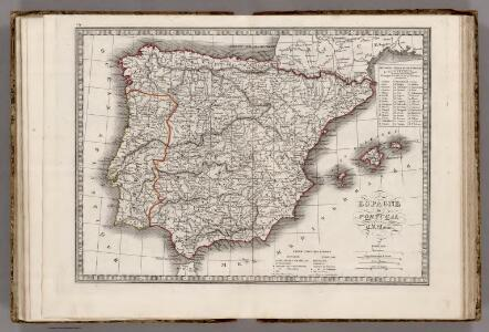 Espagne et Portugal.