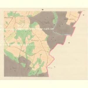 Domstadt (Domassow) - m0557-1-006 - Kaiserpflichtexemplar der Landkarten des stabilen Katasters