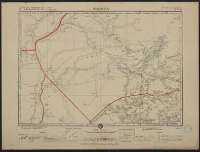 Carte des colonies de l'A.O.F. Tahoua