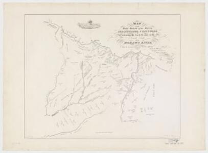 Map of the head waters of the rivers Susquehanna & Delaware embracing the early patents on the south side of the Mohawk River : from the original, drawn about the year 1790
