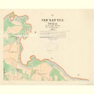 Neusattel - c5305-1-004 - Kaiserpflichtexemplar der Landkarten des stabilen Katasters