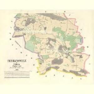 Teyrzowitz - c8159-1-002 - Kaiserpflichtexemplar der Landkarten des stabilen Katasters