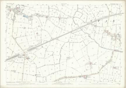 Derbyshire L.3 (includes: Chaddesden; Morley; Spondon; Stanley) - 25 Inch Map