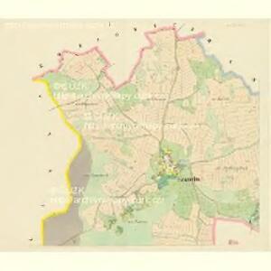 Kramolin - c3504-1-001 - Kaiserpflichtexemplar der Landkarten des stabilen Katasters