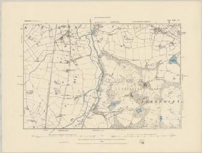 Staffordshire XLIV.SW - OS Six-Inch Map