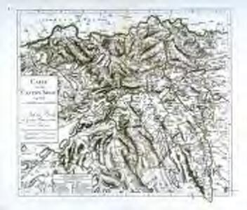 Carte von dem Canton Argau