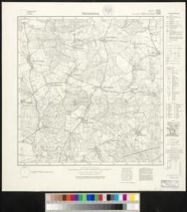 Meßtischblatt 508, neue Nr. 1840 : Dänschenburg, 1927