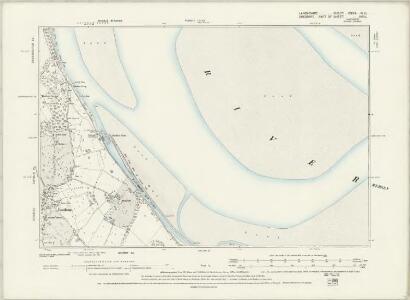 Lancashire CXVII.SE - OS Six-Inch Map