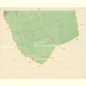 Kniezdub - m1209-1-008 - Kaiserpflichtexemplar der Landkarten des stabilen Katasters