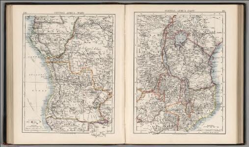 Central Africa (West).  Central Africa (East).