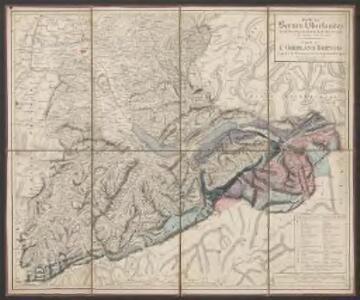 Carte des Berner-Oberlandes