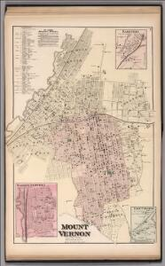 Mount Vernon, Town of East Chester, Westchester Co., N.Y.  (insets) Washingtonville.  East Chester.  Lakeville.