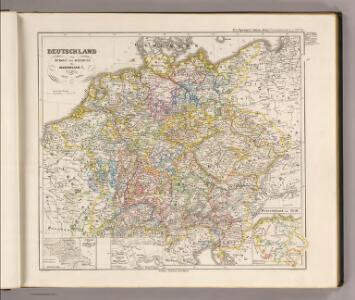 Deutschland von Rudolf von Habsburg bis Maximilian I, 1275-1495.
