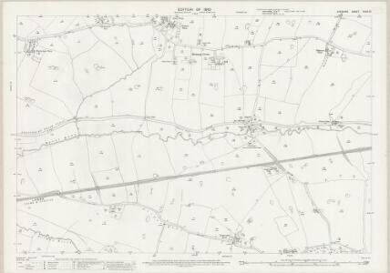 Cheshire XLVII.12 (includes: Beeston; Huxley; Tattenhall; Tiverton) - 25 Inch Map