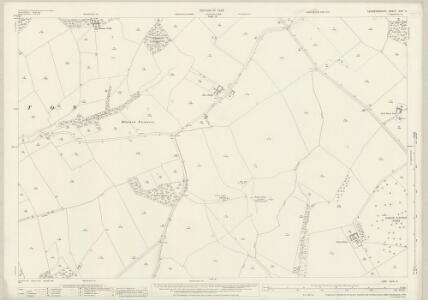 Leicestershire XLVI.4 (includes: Blaston; Great Easton; Horninghold; Medbourne; Neville Holt; Stockerston) - 25 Inch Map