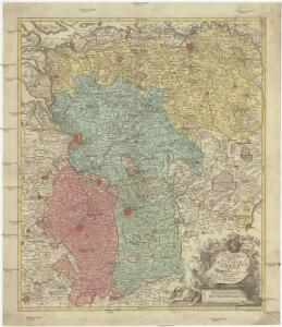 Nova tabula geographica exhibens ducatum Brabantiae