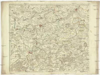 Le comté de Namur, partie de l'evesché de Liege, du Luxembourg, &c