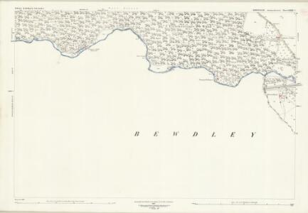Shropshire LXXXI.2 (includes: Bewdley; Kinlet; Rock; Upper Arley) - 25 Inch Map
