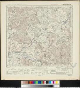 Meßtischblatt 6742 : Cham ost, 1940