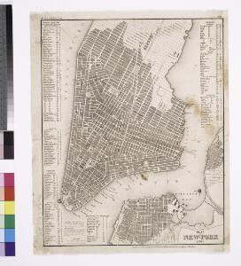 Plan von New-York, 1844.
