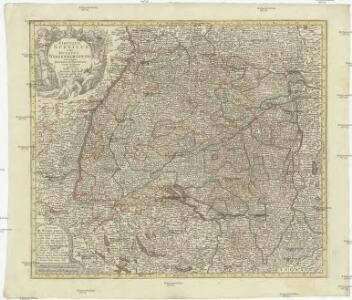 Circulus Suevicus in quo ducatus Wirtenbergensis cum reliquis statibus et provinciis curate designatus propomtur