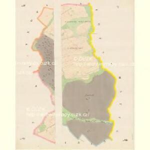 Serowitz - c9451-1-006 - Kaiserpflichtexemplar der Landkarten des stabilen Katasters