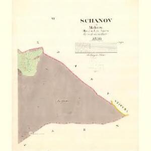 Schanov - m3002-1-005 - Kaiserpflichtexemplar der Landkarten des stabilen Katasters