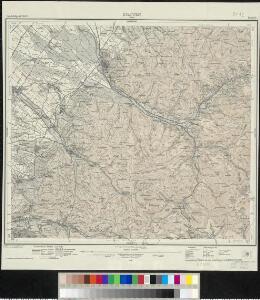 Meßtischblatt [8112] : Staufen (Belchen), 1928