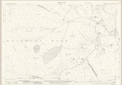 Yorkshire CC.1 (includes: Cowling; Keighley) - 25 Inch Map