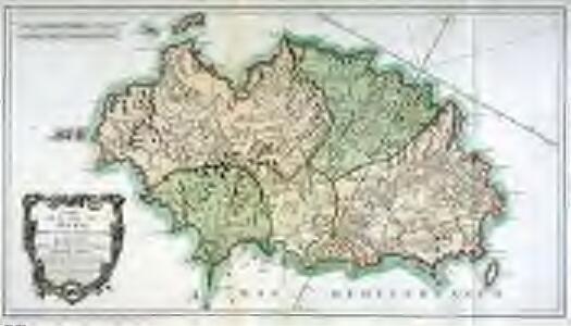 Mapa de la isla de Iviza