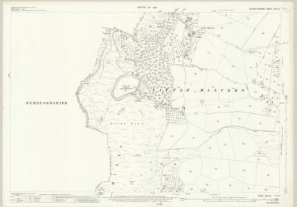 Worcestershire XLVI.12 (includes: Castlemorton; Colwall; Ledbury Rural; Little Malvern; Welland) - 25 Inch Map