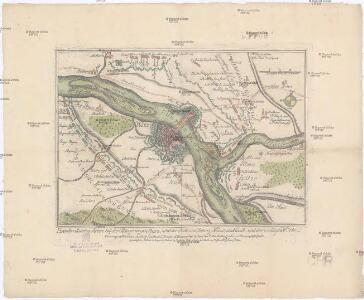Plan der allüerten Armee bey der Belagrung von Mainz, nebst der Stadt und Vestung Mainz und Cassel, und der umliegende Orte
