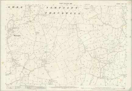 Somerset XI.16 (includes: Butcombe; Nempnett Thrubwell; Winford) - 25 Inch Map