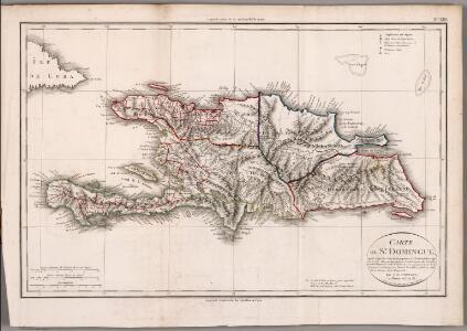 Carte de St. Domingue