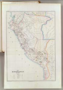 Mapa mineralogico del Peru.