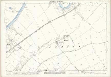 Durham XIII.4 (includes: Ford; Houghton Le Spring; Hylton; Offerton; Sunderland; Washington) - 25 Inch Map