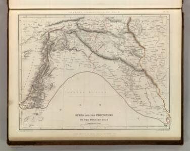 Syria and the Provinces to the Persian Gulf.