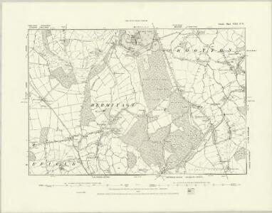 Dorset XXII.SW - OS Six-Inch Map