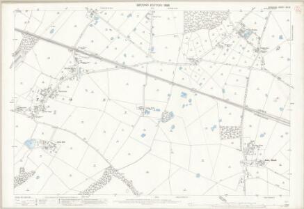 Cheshire XXV.9 (includes: Aston; Preston Brook; Sutton) - 25 Inch Map