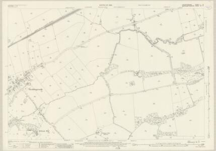 Leicestershire L.10 (includes: Lubenham; Marston Trussel; Theddingworth) - 25 Inch Map