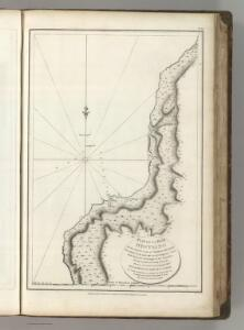 Plan of La Baie Destaing on the Eastern Coast of Tchoka ....