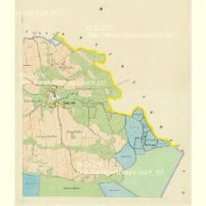 Kropitz - c3509-1-002 - Kaiserpflichtexemplar der Landkarten des stabilen Katasters