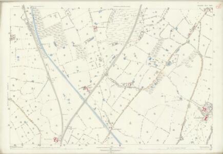 Shropshire IX.14 (includes: Adderley; Market Drayton; Mucklestone; Norton In Hales; Tyrley) - 25 Inch Map
