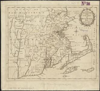 A new and accurate map of the Colony of Massachusetts Bay, in North America, from a late survey
